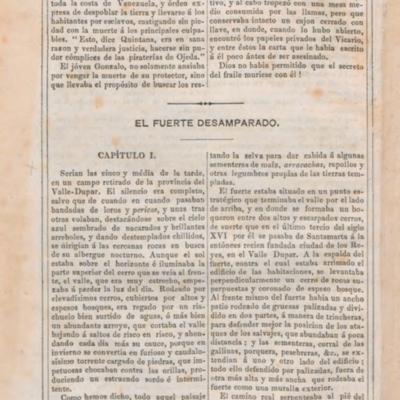 VI El fuerte desamparado (1550)