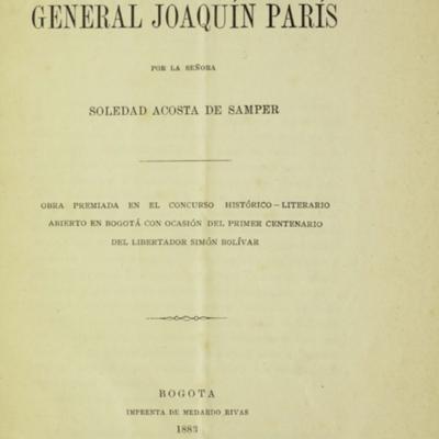 Biografía del general Joaquín París